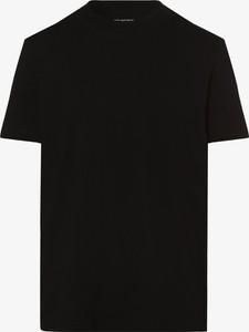 Czarny t-shirt Selected