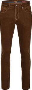 Brązowe spodnie Camel Active ze sztruksu