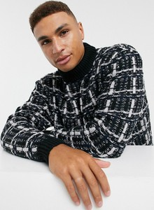 Czarny sweter Asos