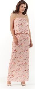Sukienka Awama bez rękawów gorsetowa