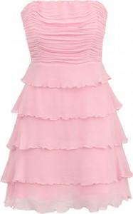 Sukienka POTIS & VERSO z jedwabiu gorsetowa