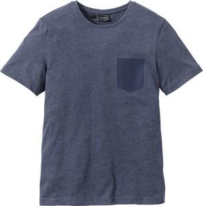 T-shirt bonprix rainbow w stylu casual z krótkim rękawem