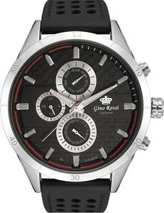 Zegarek męski Gino Rossi Exclusive - MOONE - E11444A - Czarny sk