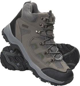 Zielone buty trekkingowe Mountain Warehouse