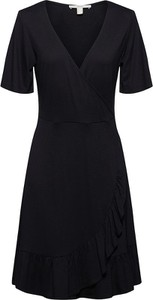 Sukienka Esprit z dekoltem w kształcie litery v z krótkim rękawem