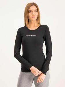 Czarna bluzka Emporio Armani w stylu casual