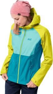 Niebieska kurtka Autoryzowany Sklep Jack Wolfskin w sportowym stylu