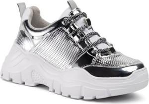 Sneakersy DeeZee sznurowane na platformie