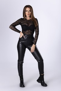 Czarna bluzka Ptakmoda.com