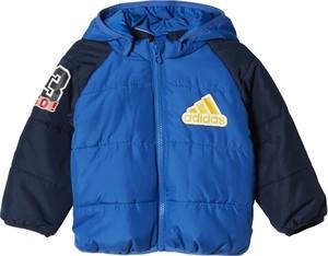 Niebieska kurtka dziecięca Adidas Performance