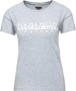 T-shirt Napapijri w stylu casual