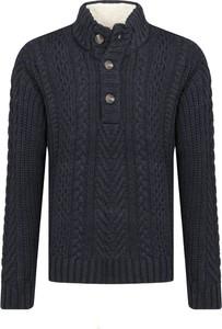 Granatowy sweter Pepe Jeans