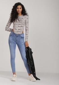 Niebieskie jeansy Renee w stylu casual