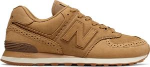 Żółte buty sportowe New Balance 574