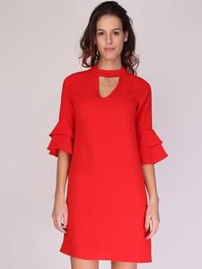 Sukienka Revd'elle mini z długim rękawem