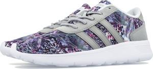 Buty sportowe Adidas ze skóry w sportowym stylu sznurowane