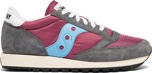 Buty sportowe Saucony z zamszu sznurowane