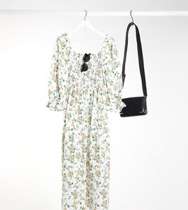 Sukienka Asos maxi z bawełny