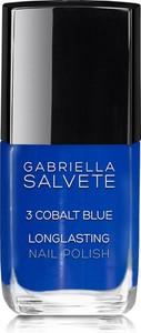 Gabriella Salvete Longlasting Enamel Lakier Do Paznokci 11Ml 03 Cobalt Blue