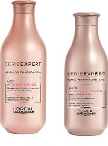 L'Oreal Paris Loreal Vitamino Color A-OX Zestaw do włosów farbowanych | Szampon 300ml + Odżywka 200ml - Wysyłka w 24H!