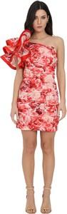 Czerwona sukienka Elisabetta Franchi mini