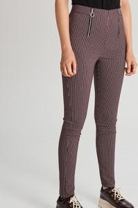 Czerwone spodnie Cropp w stylu casual