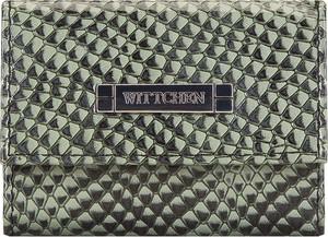 Zielony portfel Wittchen