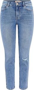 Jeansy Pieces w stylu casual z bawełny
