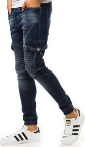 Niebieskie jeansy Dstreet