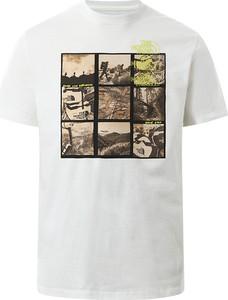 T-shirt The North Face z krótkim rękawem w sportowym stylu