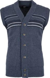 Niebieska kamizelka Hajo z jeansu