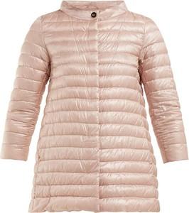 Różowa kurtka Herno w stylu casual
