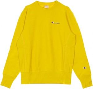 Żółta bluza Champion w stylu casual