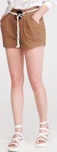 Brązowe szorty Reserved w stylu klasycznym