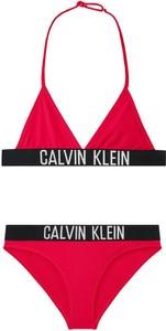 Czerwony strój kąpielowy Calvin Klein