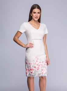 682a3f7cce sukienka pudrowy róż - stylowo i modnie z Allani
