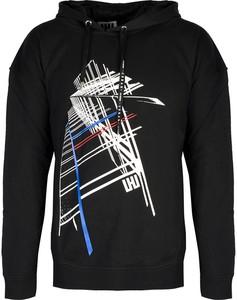 Czarna bluza ubierzsie.com z nadrukiem