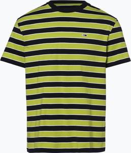 Zielony t-shirt Tommy Jeans z dżerseju