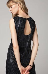Sukienka Solar z okrągłym dekoltem