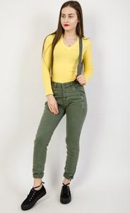 4af60a6f43 spodnie damskie khaki - stylowo i modnie z Allani