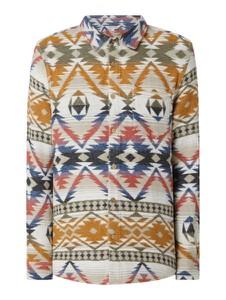 Sweter Review w stylu etno z bawełny
