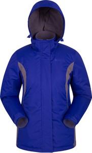 Niebieska kurtka Mountain Warehouse z tkaniny
