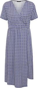 Sukienka Marc O'Polo kopertowa z krótkim rękawem