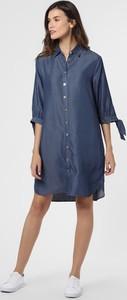 Niebieska sukienka comma, mini