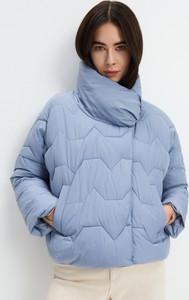 Niebieska kurtka Mohito w stylu casual