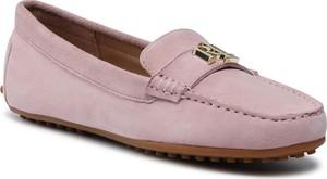 Buty Ralph Lauren z płaską podeszwą