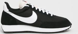 Czarne buty sportowe Nike Sportswear sznurowane ze skóry