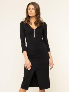 Sukienka Patrizia Pepe z długim rękawem