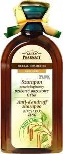 Green Pharmacy szampon do włosów przeciwłupieżowy dziegieć cynk 350 ml