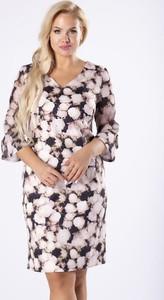 Sukienka Moda Dla Ciebie dopasowana z tiulu